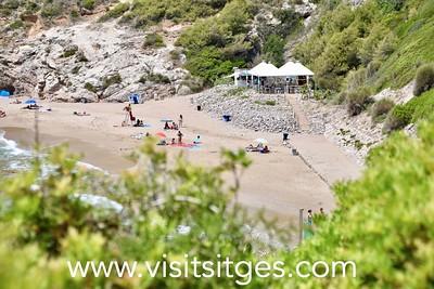Playa Cala Morisca Sitges