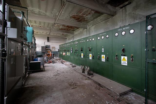 Attic control panel