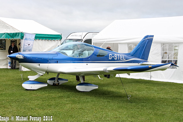 G-STEL - 2013 build BRM Bristell NG5 Speed Wing, part of the exhibition at Sywell during Aero Expo 2015