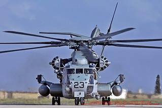 163085 LMML 14-10-2011 United States - US Marine Corps (USMC) Sikorsky CH-53E Super Stallion CN 65-579