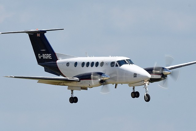 Beech 200 Super King G-BGRE Owned by Martin-Baker Engineering Limited