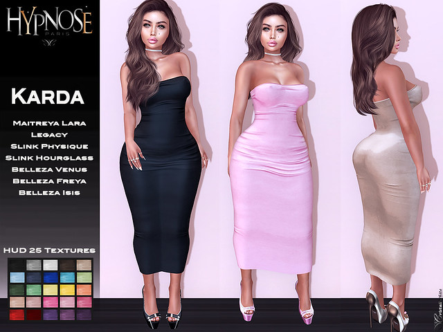HYPNOSE - KARDA LONG DRESS