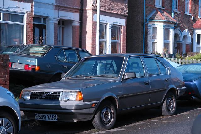 1988 Volvo 340 GL.