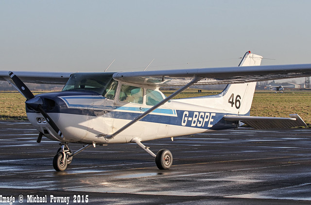 G-BSPE - 1980 Reims built Cessna F172P Skyhawk, at Church Fenton for the 2015 Revival Fly-In