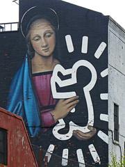 Owen Dippie, Radiant Madonna, Brooklyn