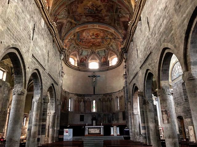 St.Michael Cathedral, Albenga, Liguria, Italy
