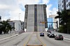 Miami river drawbridge