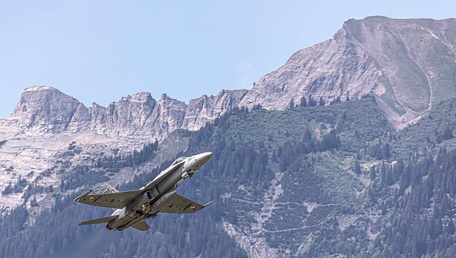 LSMM / Swiss Air Force / Boeing F/A-18C Hornet / J-5010
