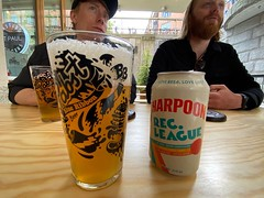 Drinking a Rec. League by Harpoon Brewery