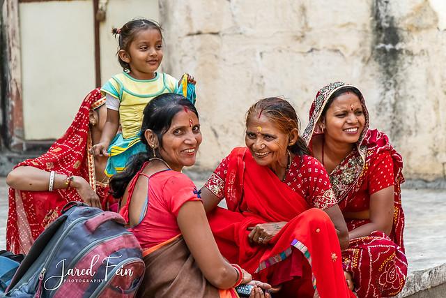 Red Saris