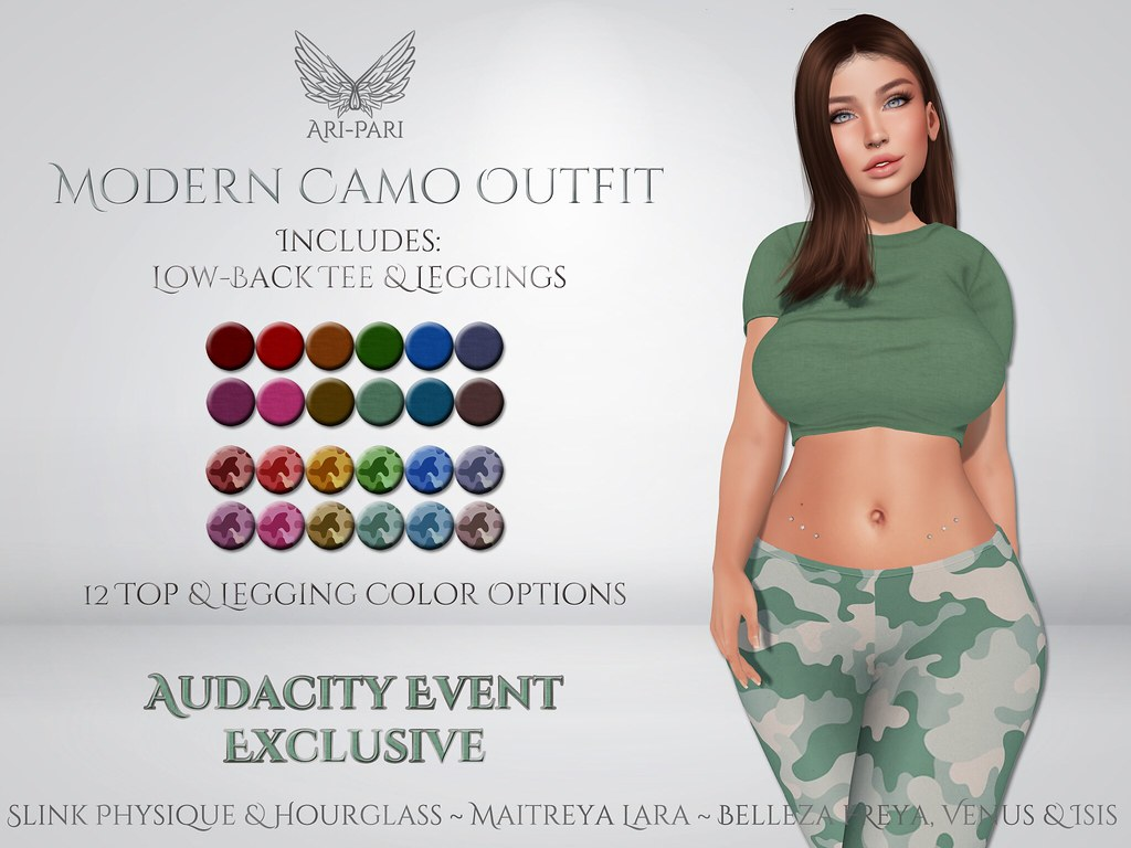 [Ari-Pari] Modern Camo Outfit