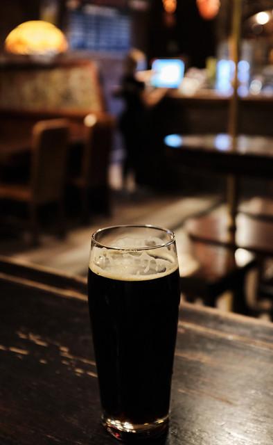 A Polish Dark Beer ( CK Browar Cellar Brew Pub - Krakow Old Town) Fujifilm X100F