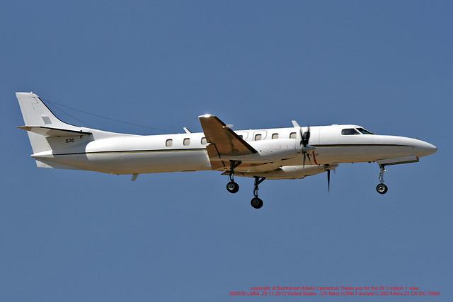 900530 LMML 26-11-2012 United States - US Navy (USN) Fairchild C-26D Metro 23 CN DC-796M