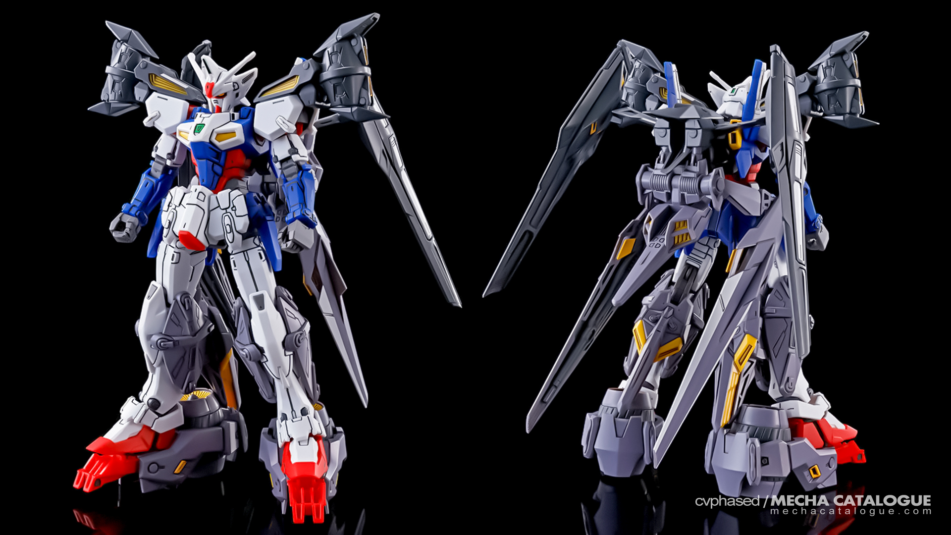 G-UNIT Re:OPERATION! HGAC Gundam Geminass 01 Assault Booster & High Mobility Unit Expansion Set