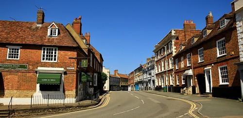 castlest buckingham lockdown england street