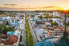 Green line | Kaunas aerial