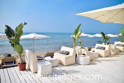 Playa Bassa Rodona Sitges