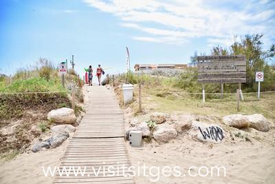 Playa Cala Ginesta Sitges