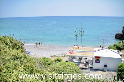 Playa del Hombre Muerto Sitges