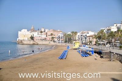 Playa Sant Sebastià Sitges