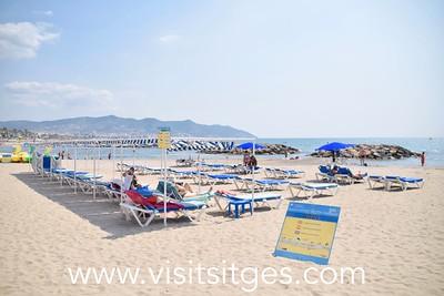 Playa Terramar Sitges