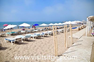 Playa Estanyol Sitges