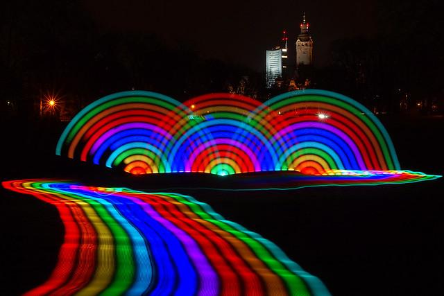Lichtmalerei in Leipzig