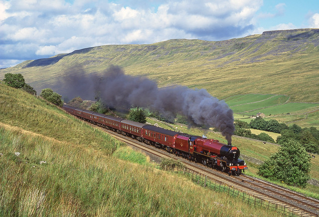 46203 'Princess Margaret Rose On Mallerstang 29/08/1994.
