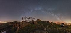 Milky Way over San Fins