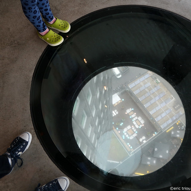 Amsterdam Tower, looking down