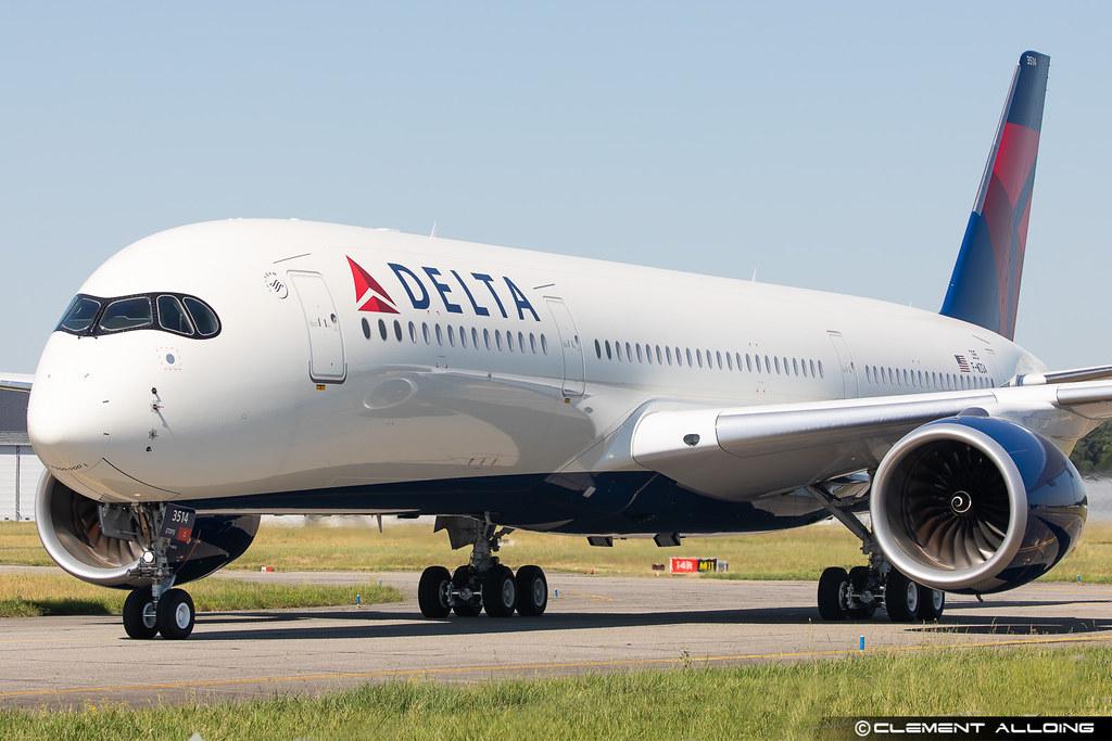 Delta Air Lines Airbus A350-941 cn 395 F-WZGA // N514DN