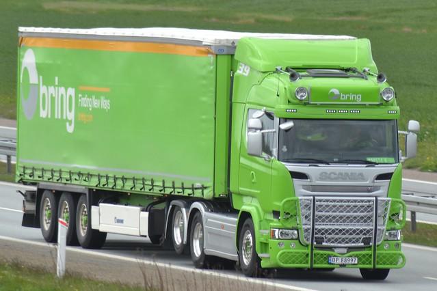 Scania R V8 - Bring Norway - 39 - N  DP 88997
