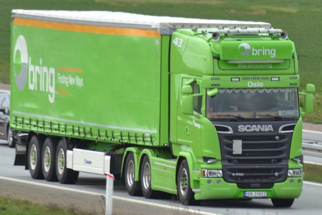 Scania R 730 V8 - Bring Norway  - 43 - N  DR 21852 (2)