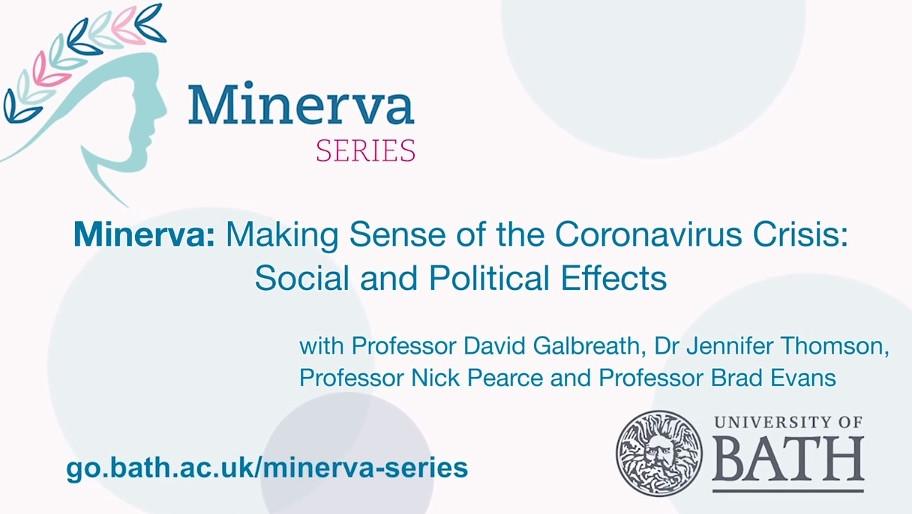 Minerva Lecture Holding Slide