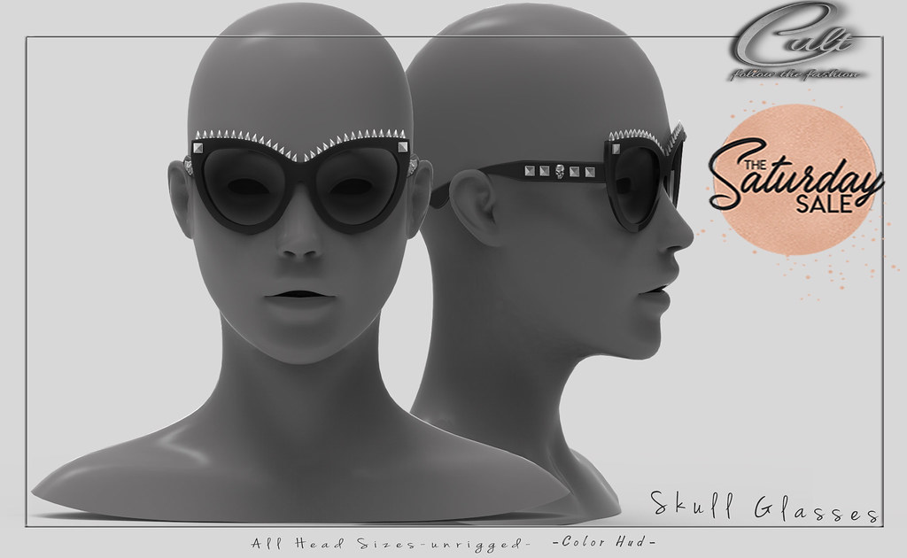 : CULT : Skull Glasses with HUD