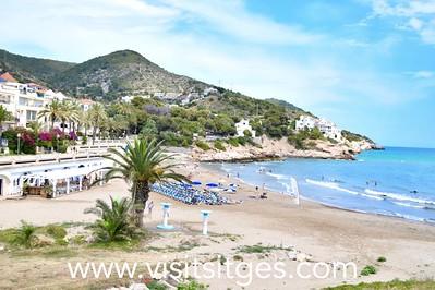 Playa Aiguadolç Sitges