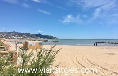 Playa La Barra Sitges
