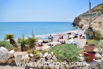 Playa Desenrocada Sitges