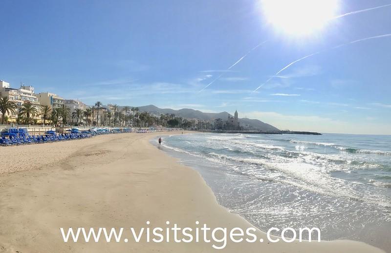 Propuesta del Plan de Usos de las playas en Sitges