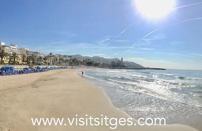 Playa La Ribera Sitges
