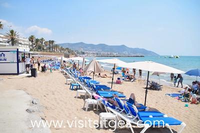 Playa La Riera Xica Sitges