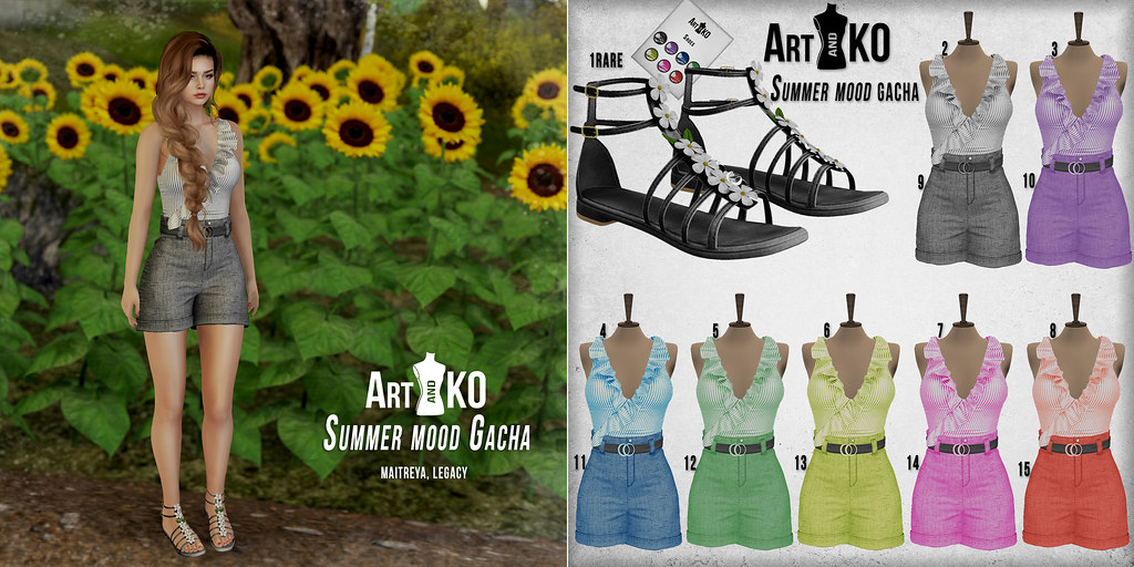 Art&KO - Summer mood GACHA - Imaginarum