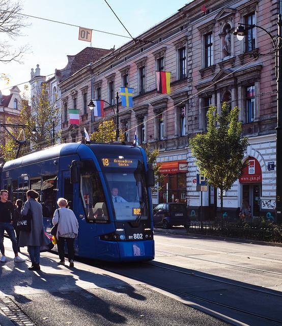 A Local Tram ( Krakow Old Town) Fujifilm X100F