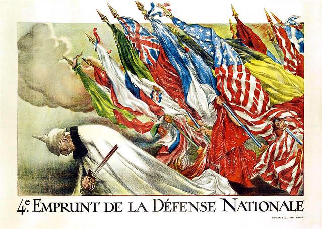 4e Emprunt de la Défense Nationale, c. 1917.