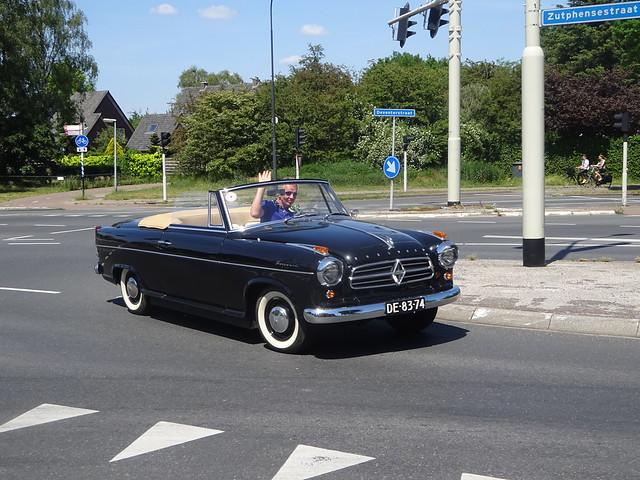 DE-83-74  BORGWARD ISABELLA cabriolet 1959 / 1991Apeldoorn