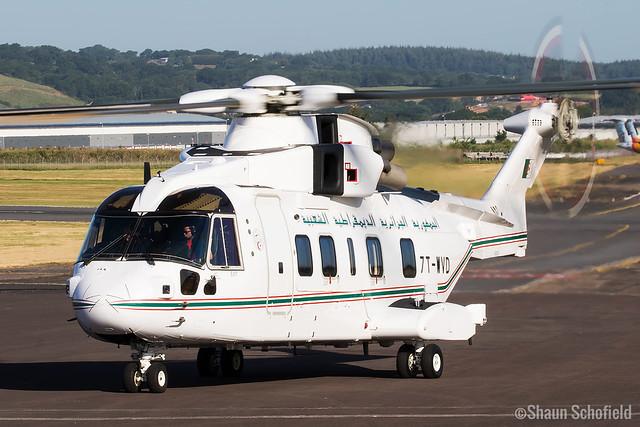 AgustaWestland Merlin Mk 642   7T-WVD   Algerian Air Force   Exeter Airport   29/05/20