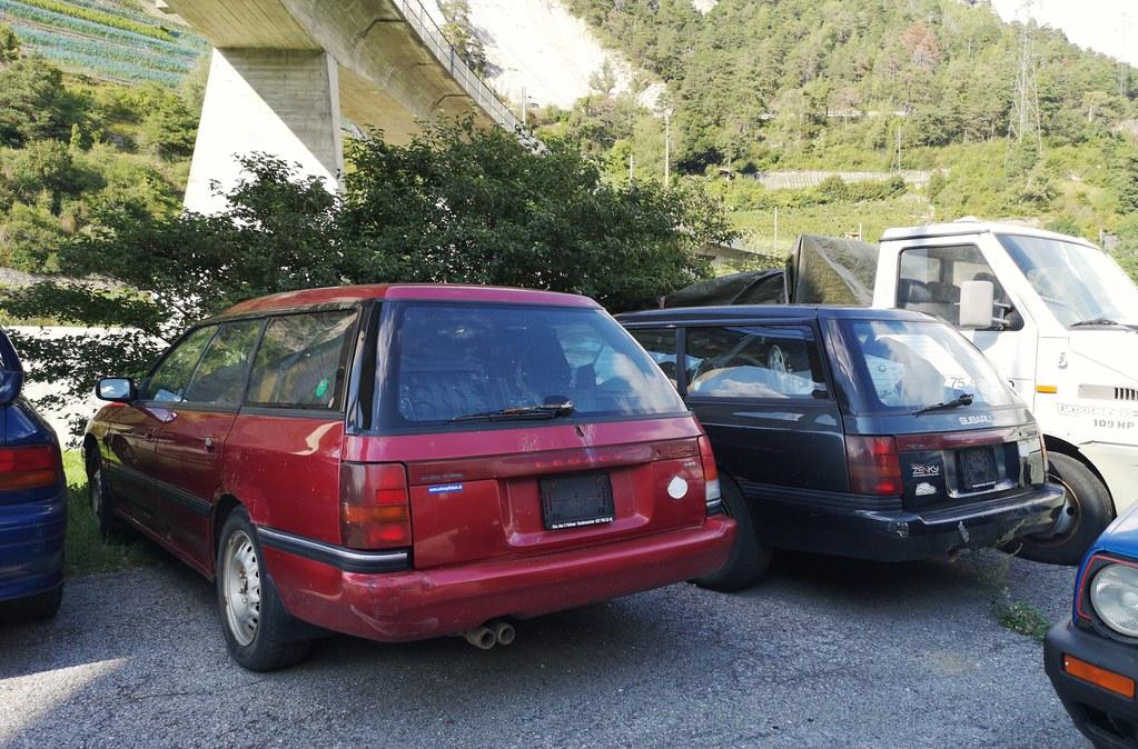 Subaru Legacy x2