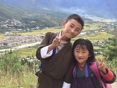 Children of the Last Shangri La: Bhutanese Children from Paro