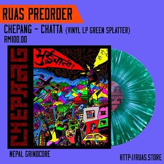 CHEPANG – Chatta (Green Splatter Vinyl)
