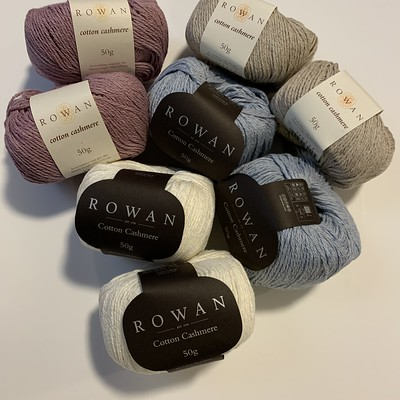 New to the shop is Rowan Cotton Cashmere